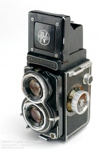 Sawyer's Mk IV Twin Lens Reflex Camera